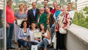 Átadták a legszebb újbudai konyhakertek után járó díjakat