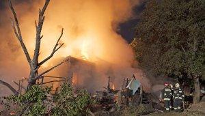 Leégett egy ház a Fülőke utcában